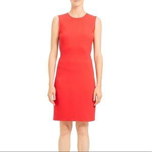 Theory Tailored Sheath Dress
